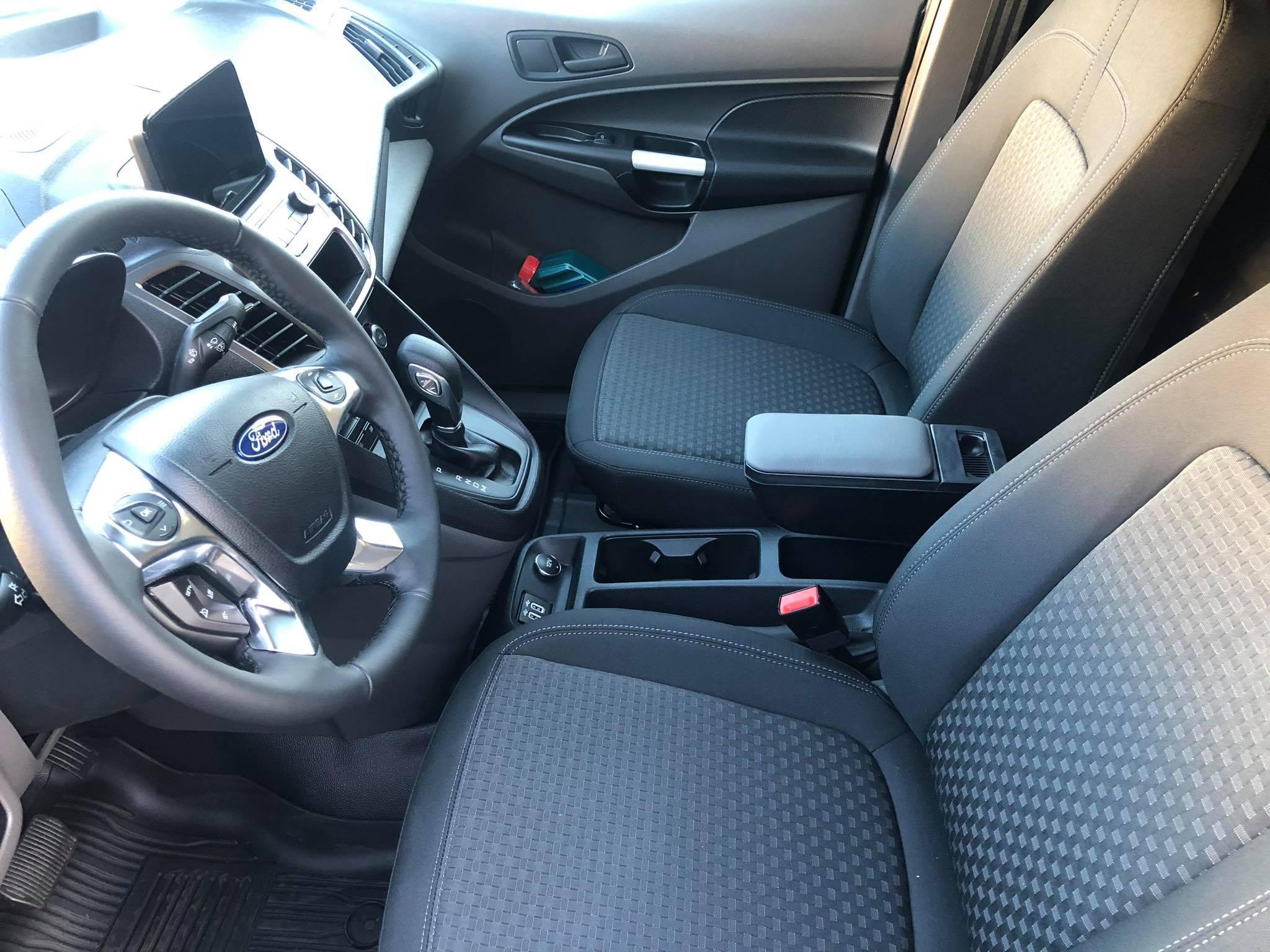 Armsteun type Comfort voor een Ford Transit Connect 2019